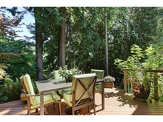"Photo 18: 1065 HERITAGE Boulevard in North Vancouver: Seymour Townhouse for sale in ""HERITAGE IN THE WOODS"" : MLS®# V1026380"