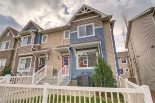 Photo 1: 70 655 TAMARACK Road in Edmonton: Zone 30 Townhouse for sale : MLS®# E4178873