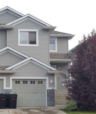 Photo 1: 87 KEYSTONE Crescent: Leduc House Half Duplex for sale : MLS®# E4207156
