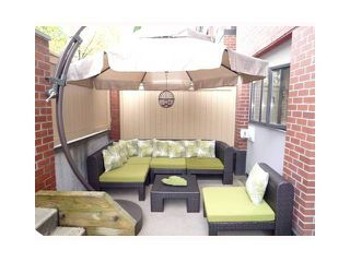"""Photo 9: 109 345 LONSDALE Avenue in North Vancouver: Lower Lonsdale Townhouse for sale in """"THE MET"""" : MLS®# V1017076"""