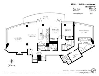 Photo 20: 1501 1560 HOMER MEWS in Vancouver: Yaletown Condo for sale (Vancouver West)  : MLS®# R2104592