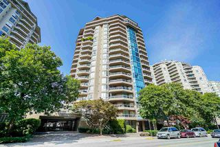 "Photo 1: 701 1235 QUAYSIDE Drive in New Westminster: Quay Condo for sale in ""RIVIERA"" : MLS®# R2393421"