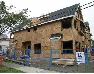 Main Photo: 1895 E 2ND AV in Vancouver: Grandview VE House 1/2 Duplex for sale (Vancouver East)  : MLS®# V560801