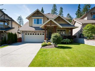 """Photo 1: 110 HAWTHORN Drive in Port Moody: Heritage Woods PM House for sale in """"EVERGREEN HEIGHTS"""" : MLS®# V962426"""