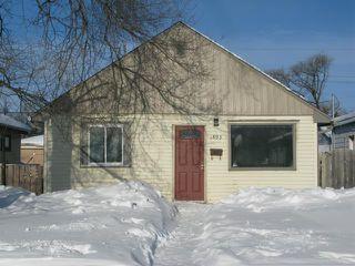 Main Photo: 1893 Bannatyne Avenue in WINNIPEG: Brooklands / Weston Single Family Detached for sale (West Winnipeg)  : MLS®# 1301690