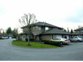 Photo 1: 11 11737 236 Street in MAPLE RIDGE: Cottonwood MR Townhouse for sale (Maple Ridge)  : MLS®# V868893