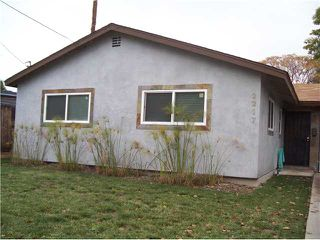 Photo 1: NORTH PARK House for sale : 3 bedrooms : 2217 Boundary Street in San Diego