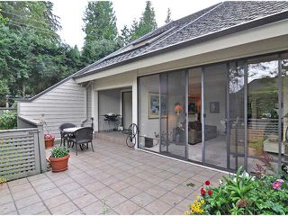 """Photo 4: 30 4957 MARINE Drive in West Vancouver: Olde Caulfeild Townhouse for sale in """"Caulfeild Cove"""" : MLS®# V933217"""