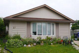 Photo 1: 27 Bibeaudel Place in Winnipeg: St Norbert Single Family Detached for sale (South Winnipeg)  : MLS®# 1530074