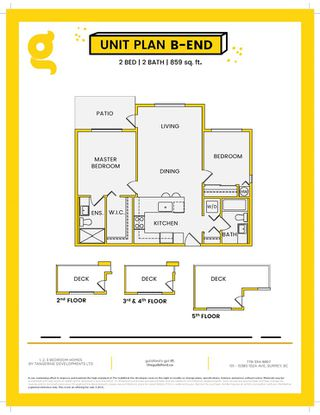 Photo 2: 407 15351 101 Avenue in Surrey: Guildford Condo for sale (North Surrey)  : MLS®# R2419117