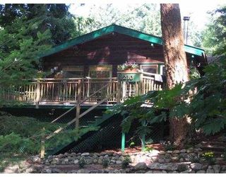 "Photo 1: 1210 MILLER RD: Bowen Island House for sale in ""MILLERS LANDING"" : MLS®# V558847"