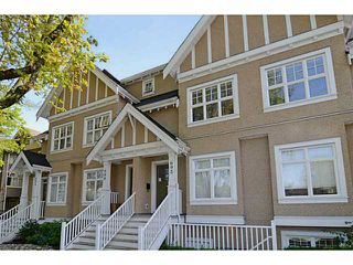 """Photo 1: 692 W 13TH Avenue in Vancouver: Fairview VW Townhouse for sale in """"FAIRVIEW"""" (Vancouver West)  : MLS®# V1005394"""