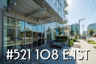 "Photo 2: 521 108 E 1ST Avenue in Vancouver: Mount Pleasant VE Condo for sale in ""Meccanica"" (Vancouver East)  : MLS®# R2416308"