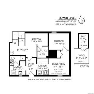 Photo 41: 1512 Pearl St in : Vi Oaklands Half Duplex for sale (Victoria)  : MLS®# 853894