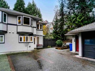 "Photo 1: 2659 FROMME Road in North Vancouver: Lynn Valley Townhouse for sale in ""Cedar Wynd"" : MLS®# R2517147"