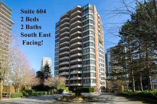 Photo 1: 604 6152 KATHLEEN AVENUE in Burnaby: Metrotown Condo for sale (Burnaby South)  : MLS®# R2043743
