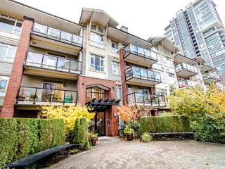 "Photo 1: 307 200 CAPILANO Road in Port Moody: Port Moody Centre Condo for sale in ""SUTERBROOK"" : MLS®# R2415006"