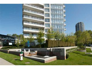 "Photo 1: 2906 2289 YUKON Crescent in Burnaby: Brentwood Park Condo for sale in ""WATERCOLOURS"" (Burnaby North)  : MLS®# V973811"