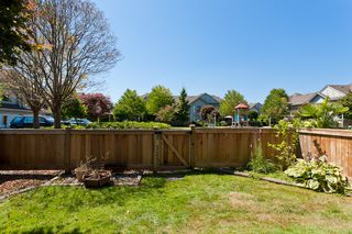 """Photo 32: # 58 1255 RIVERSIDE DR in Port Coquitlam: Riverwood Townhouse for sale in """"RIVERWOOD GREEN"""" : MLS®# V1019194"""