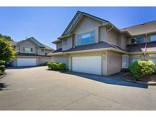"""Photo 2: # 58 1255 RIVERSIDE DR in Port Coquitlam: Riverwood Townhouse for sale in """"RIVERWOOD GREEN"""" : MLS®# V1019194"""
