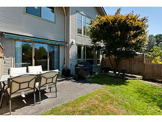 """Photo 31: # 58 1255 RIVERSIDE DR in Port Coquitlam: Riverwood Townhouse for sale in """"RIVERWOOD GREEN"""" : MLS®# V1019194"""