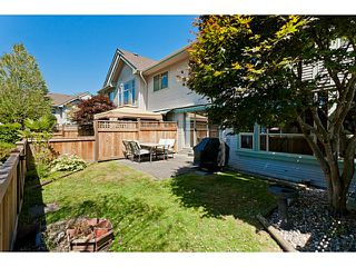 """Photo 1: # 58 1255 RIVERSIDE DR in Port Coquitlam: Riverwood Townhouse for sale in """"RIVERWOOD GREEN"""" : MLS®# V1019194"""