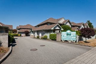 """Photo 33: # 58 1255 RIVERSIDE DR in Port Coquitlam: Riverwood Townhouse for sale in """"RIVERWOOD GREEN"""" : MLS®# V1019194"""