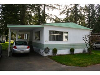 Photo 1: # 64 20071 24TH AV in Langley: Brookswood Langley House for sale : MLS®# F1434481