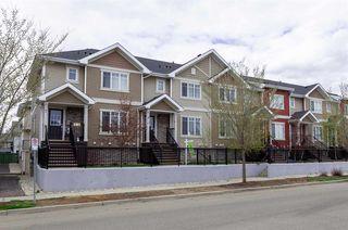 Photo 1: 8 13810 166 Avenue in Edmonton: Zone 27 Townhouse for sale : MLS®# E4192597