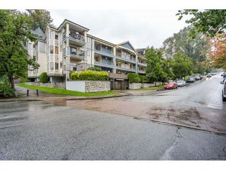 "Photo 1: 105 102 BEGIN Street in Coquitlam: Maillardville Condo for sale in ""CHATEAU D'OR"" : MLS®# R2508106"
