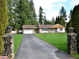 Photo 1: 5844 132ND Street in Surrey: Panorama Ridge House for sale : MLS®# F1206809