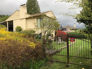 Main Photo: 2595 Palmerston Avenue in West Vancouver: Dundarave House for rent