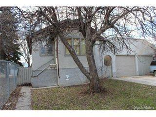 Main Photo: 1936 BRODER STREET in Regina: General Hospital Residential for sale (Regina Area 03)  : MLS®# 498710