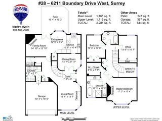 "Photo 20: 28 6211 W BOUNDARY Drive in Surrey: Panorama Ridge Townhouse for sale in ""LAKEWOOD HEIGHTS"" : MLS®# F1421128"