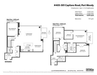 "Photo 21: 405 301 CAPILANO Road in Port Moody: Port Moody Centre Condo for sale in ""THE RESIDENCES"" : MLS®# R2460667"