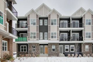 Photo 3: 415 250 Fireside View: Cochrane Row/Townhouse for sale : MLS®# A1044702