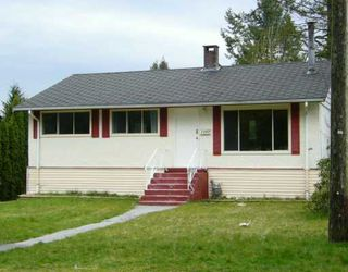 Main Photo: 2252 HAVERSLEY AV in Coquitlam: Coquitlam East House for sale : MLS®# V579889