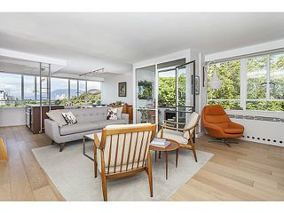 Photo 1: # 425 1445 MARPOLE AV in Vancouver: Fairview VW Condo for sale (Vancouver West)  : MLS®# V1136425