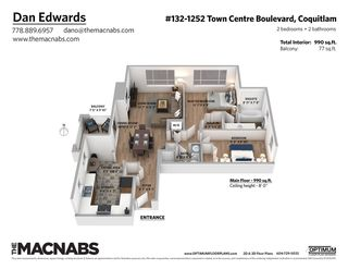 "Photo 33: 132 1252 TOWN CENTRE Boulevard in Coquitlam: Canyon Springs Condo for sale in ""THE KENNEDY"" : MLS®# R2507713"