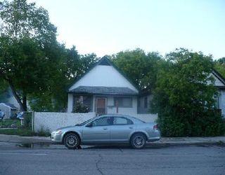 Photo 1: 591 DUFFERIN AV in WINNIPEG: Residential for sale (Canada)  : MLS®# 2912748