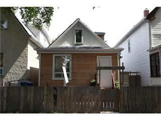 Photo 1: 459 Victor Street in WINNIPEG: West End / Wolseley Residential for sale (West Winnipeg)  : MLS®# 1215913