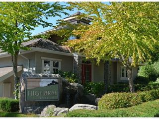"Photo 1: 11 14952 58TH Avenue in Surrey: Sullivan Station Townhouse for sale in ""HIGHBRAE"" : MLS®# F1318700"