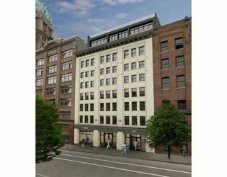 Photo 1: 304 528 BEATTY Street in Vancouver West: Downtown VW Home for sale ()  : MLS®# V671912