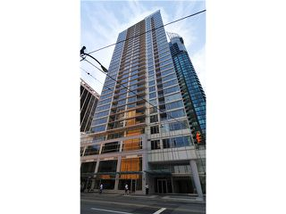 Main Photo: # 2902 1188 W PENDER ST in Vancouver: Coal Harbour Condo for sale (Vancouver West)  : MLS®# V1084164
