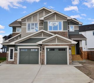 Photo 1: 64 JAMES Crescent: St. Albert House Half Duplex for sale : MLS®# E4185188