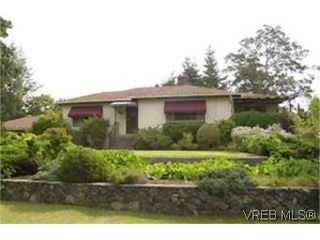 Photo 1:  in VICTORIA: Es Gorge Vale House for sale (Esquimalt)  : MLS®# 444392