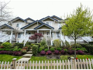 "Photo 1: 8 6533 121 Street in Surrey: West Newton Townhouse for sale in ""StoneBriar"" : MLS®# F1310945"