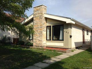 Photo 1: 141 Apple Lane in WINNIPEG: Westwood / Crestview Residential for sale (West Winnipeg)  : MLS®# 1319133