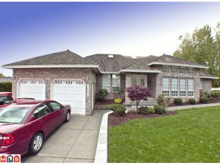 "Photo 1: 3067 SANDPIPER Drive in Abbotsford: Abbotsford West House for sale in ""SANDPIPER (EAST)"" : MLS®# F1226297"