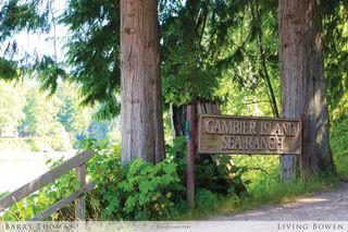 Main Photo: 19B Gambier Island Sea Ranch: Gambier Island House for sale : MLS®# V1076348